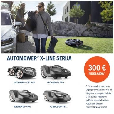 Husqvarna robotas vejapjovė AUTOMOWER® 450X 6